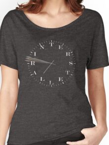 Interstellar Afraid of Time Women's Relaxed Fit T-Shirt