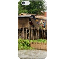 Wooden Houses on Stilts iPhone Case/Skin