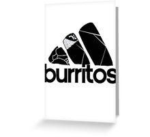 BURRITOS Greeting Card