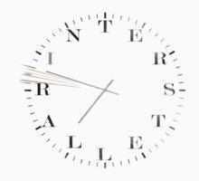 Interstellar Afraid of Time (black) by jerrybenjamin
