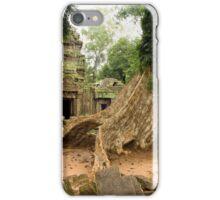 Ta Prohm Temple in Cambodia iPhone Case/Skin