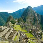 Macchu Picchu, Cuzco, Peru by juan jose Gabaldon