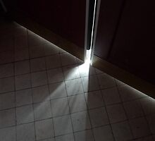 light leaks through the door by ragman