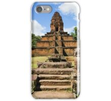 Pyramid Temple in Cambodia iPhone Case/Skin