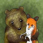 Timothy & Foxy by Sophie Corrigan