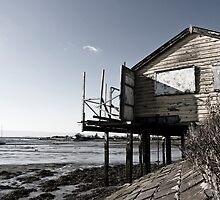 Heybridge Holiday Huts by Paul Davey