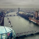 View from the London Eye by Jakov Cordina