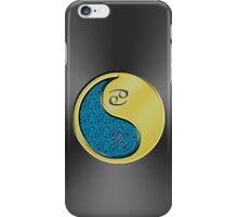 Cancer & Boar Yin Metal iPhone Case/Skin