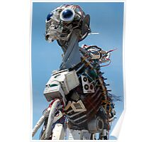 WEEE MAN Recycled Waste Electrical and Electronic Equipment Robot Poster