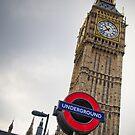 Big Ben Underground by Jakov Cordina