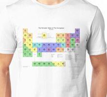 Periodic Table of Europeans Unisex T-Shirt