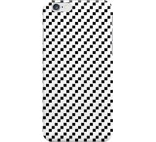 2 bit squares (white and black iPhone Case/Skin