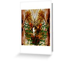 Winged Purr Greeting Card