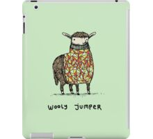Wooly Jumper iPad Case/Skin