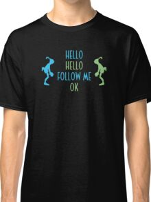 Oddworld Abe's Oddysee Hello (Blue & Green) Classic T-Shirt