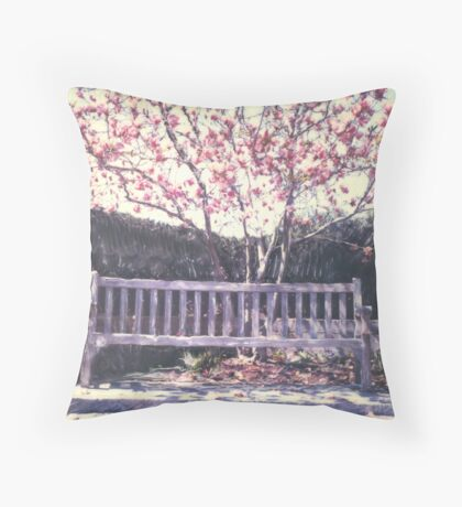Wagner Park ©2003 W.Cook Throw Pillow