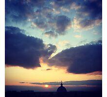 Spring Sunset Photographic Print