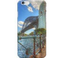 A Different Angle On The Bridge iPhone Case/Skin