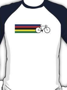 Rainbow Jersey (bicycle racing) T-Shirt