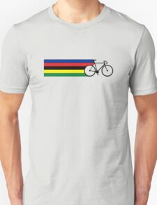 Rainbow Jersey (bicycle racing) Unisex T-Shirt
