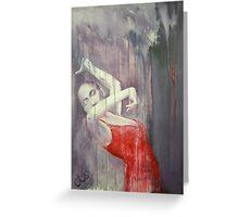 flamenco 5 Greeting Card