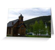 Churches Greeting Card