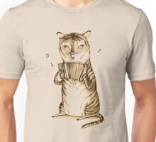 Accordion Tiger Unisex T-Shirt