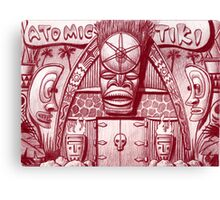 Atomic Tiki Shoppe Canvas Print