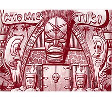 Atomic Tiki Shoppe Photographic Print