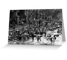 Calcutta Clean Greeting Card