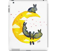 Hanging on the Moon iPad Case/Skin