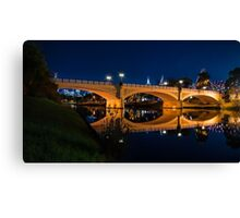 Morell Bridge - Yarra River Canvas Print