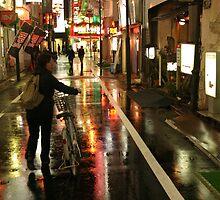 Shinjuku Cyclist by Matt Emrich