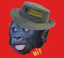 Hi! says the ranger monkey Kids Clothes