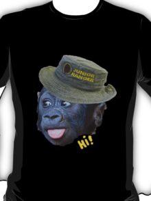 Hi! says the ranger monkey T-Shirt