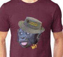 Hi! says the ranger monkey Unisex T-Shirt