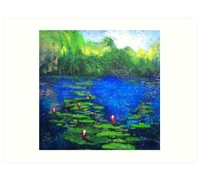 8 Mile Creek Lagoon - Bajool Art Print