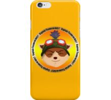 Captain Teemo on duty !!! iPhone Case/Skin