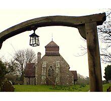 Friston Church Photographic Print