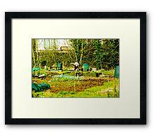 The Allotment Framed Print