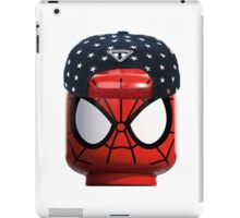Lego Spiderman having a day off iPad Case/Skin