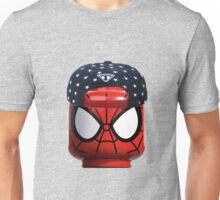 Lego Spiderman having a day off Unisex T-Shirt