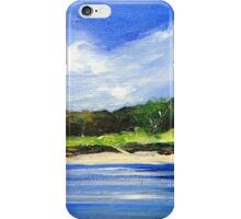 Sea Hill Houses iPhone Case/Skin