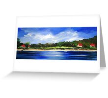 Sea Hill Houses Greeting Card