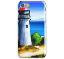 Sea Hill Lighthouse iPhone Case/Skin