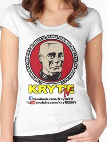 Krytie TV Women's Fitted Scoop T-Shirt