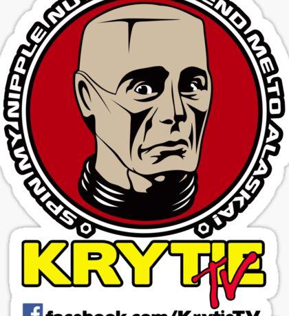 Krytie TV Sticker