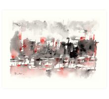 Dirty Old Town Art Print