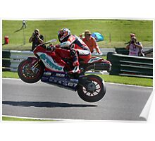 Shane Byrne, 2008 British superbike champion Poster