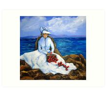 The Apple Woman Art Print